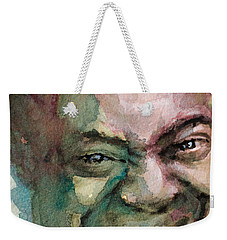 Louis Armstrong Weekender Tote Bag by Laur Iduc