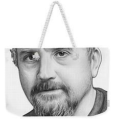 Louis Ck Portrait Weekender Tote Bag by Olga Shvartsur