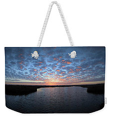 Louisiana Sunrise Weekender Tote Bag