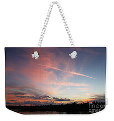 Weekender Tote Bag featuring the photograph Louisiana Sunset In Lacombe by Luana K Perez