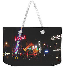 Louisville Kentucky Misty Nights Weekender Tote Bag