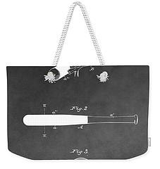 Louisville Slugger Baseball Bat Weekender Tote Bag by Dan Sproul