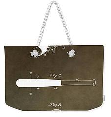 Louisville Slugger Patent Weekender Tote Bag