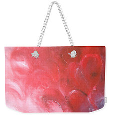 Weekender Tote Bag featuring the painting Love Affair by Jane  See