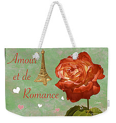 Love And Romance Weekender Tote Bag