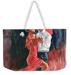 Love And Tango Weekender Tote Bag by Melly Terpening
