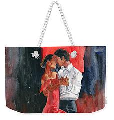 Love And Tango Weekender Tote Bag