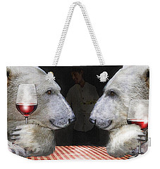 Love Bears All Things Weekender Tote Bag by Jane Schnetlage