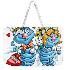 Love Bugs Weekender Tote Bag