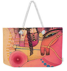 Love Carriage Weekender Tote Bag