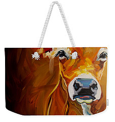 Love Cow Weekender Tote Bag