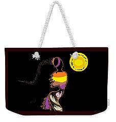Weekender Tote Bag featuring the digital art Love Dance by Ann Calvo