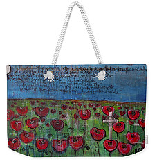 Love For Flanders Fields Poppies Weekender Tote Bag
