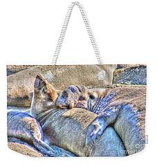 Love Hug - San Simeon California Weekender Tote Bag