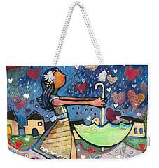 Love Is Abundant Weekender Tote Bag