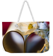 Love Is All Around Weekender Tote Bag by Jan Bickerton