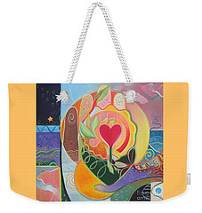 Love Is Love Weekender Tote Bag