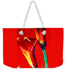 Love Lilies Weekender Tote Bag by Jackie Carpenter