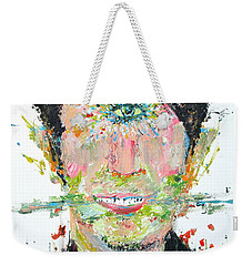 Love Me Do Weekender Tote Bag by Fabrizio Cassetta