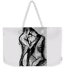 Love Me Tender Weekender Tote Bag