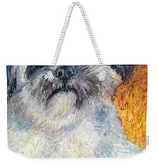 Love My Lhasa Weekender Tote Bag