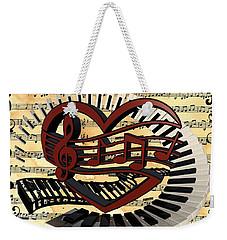 Love Of Music  Weekender Tote Bag