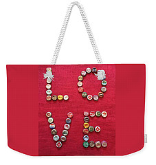 Love Pop Weekender Tote Bag