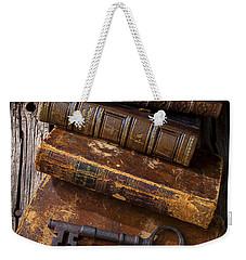 Love Reading Weekender Tote Bag by Garry Gay