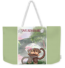 Love Remembers Weekender Tote Bag by Jerry Ruffin
