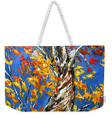 Weekender Tote Bag featuring the painting Love That Reaches by Meaghan Troup
