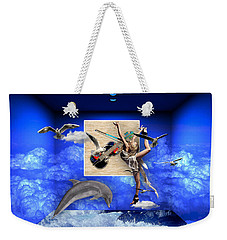 Love The Journey Your On Weekender Tote Bag by Marvin Blaine