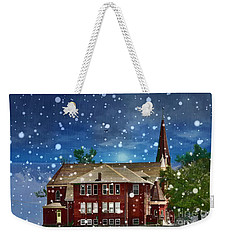 Weekender Tote Bag featuring the photograph Lovely Country Church by Liane Wright