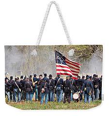 Lovely Flag Weekender Tote Bag