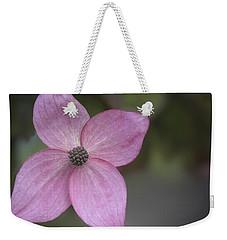 Pink Four Weekender Tote Bag
