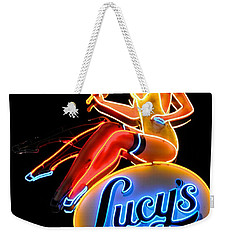 Lovely Lucy's Chicken Weekender Tote Bag