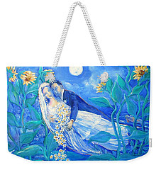 Lovers And Sunflowers  After Marc Chagall  Weekender Tote Bag
