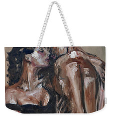 Lovers Weekender Tote Bag by Donna Tuten