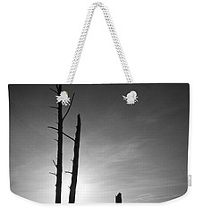 Lovers Key Sunset Black And White One Weekender Tote Bag