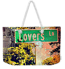 Lovers Lane Weekender Tote Bag