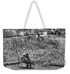 Lovers On Daffodil Hill Weekender Tote Bag