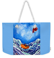 Love's Castaway Weekender Tote Bag by Jackie Carpenter