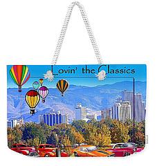 Lovin The Classics Weekender Tote Bag by Bobbee Rickard