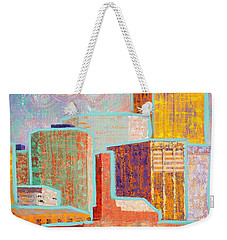 Loving It In Denver Weekender Tote Bag by Margaret Bobb