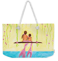 Loving Sunshine Weekender Tote Bag by Leslie Allen