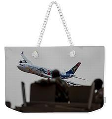 Low Airbus Weekender Tote Bag