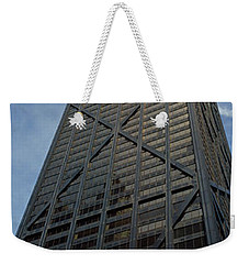Low Angle View Of A Building, Hancock Weekender Tote Bag