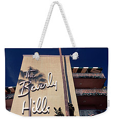 Low Angle View Of A Hotel, Beverly Weekender Tote Bag