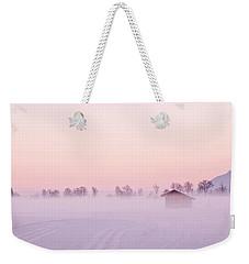 Low Fog Weekender Tote Bag