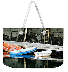 Weekender Tote Bag featuring the photograph Low Tide by Kristen Fox