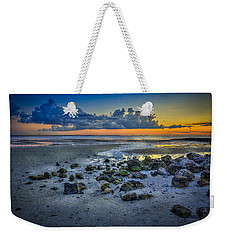 Low Tide On The Bay Weekender Tote Bag